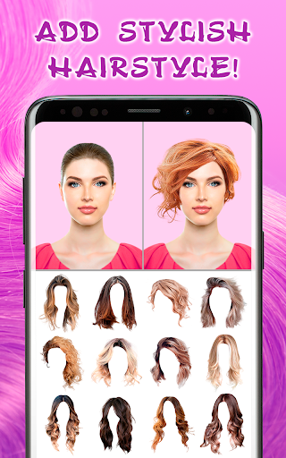 Hairstyles for your face screenshot 1