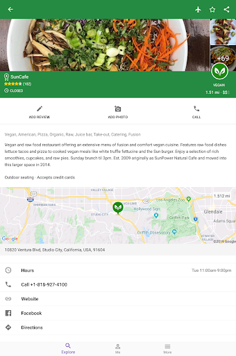Find Vegan Restaurants & Vegetarian Food screenshot 10
