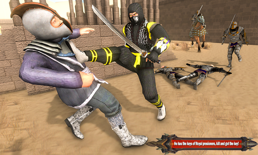 Superhero Ninja Arashi with Samurai Assassin Hero screenshot 4