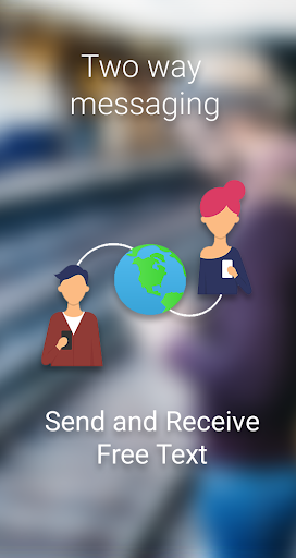 FREE TEXT to Philippines | PreText SMS - SMS/MMS screenshot 1