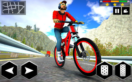 Mountain Bike Simulator 3D screenshot 4