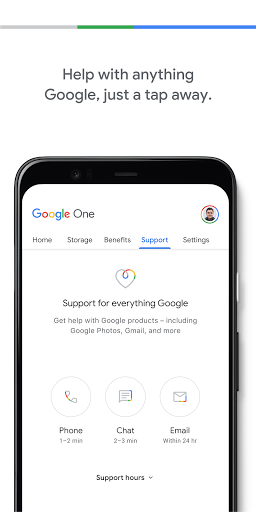 Google One screenshot 5