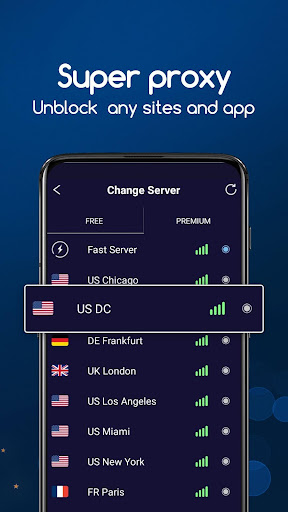 VPN Super screenshot 2