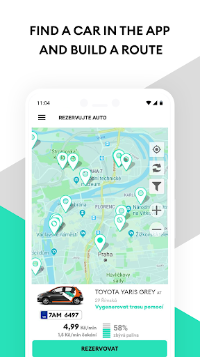 Anytime Carsharing CZ screenshot 3