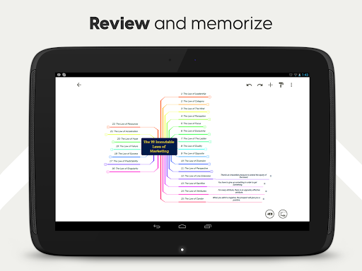 Mind Map & Concept Map Maker - Mindomo screenshot 14
