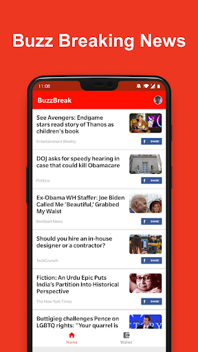 BuzzBreak screenshot 1