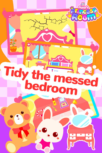 Pony Princess Room-Baby House Cleanup For Girls screenshot 2
