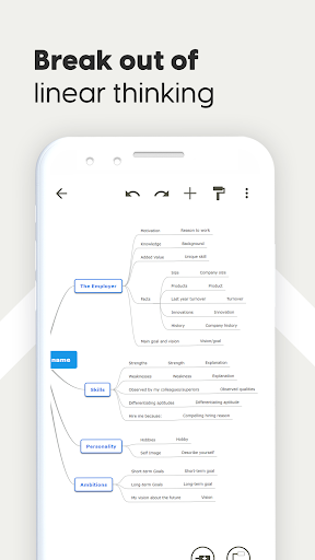 Mind Map & Concept Map Maker - Mindomo screenshot 4