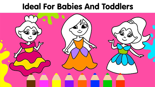 Coloring Games for Kids: Baby Drawing Book & Pages screenshot 5
