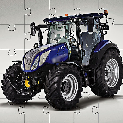 Jigsaw Puzzles Tractor New Holland Games Free 🧩🚜 screenshot 2