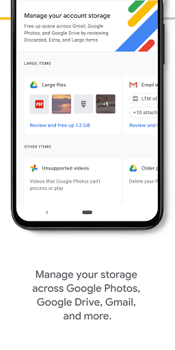 Google One screenshot 2