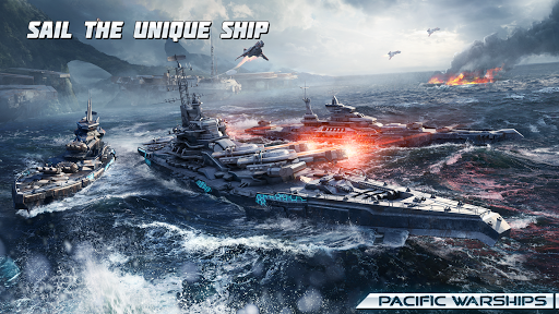 Pacific Warships screenshot 3