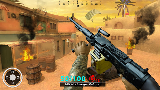 New Free Fire Game 2021:FPS Shooting New Game 2021 screenshot 5