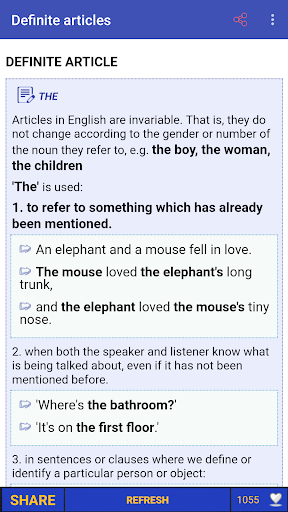English Grammar in Use and Test (Full) screenshot 1