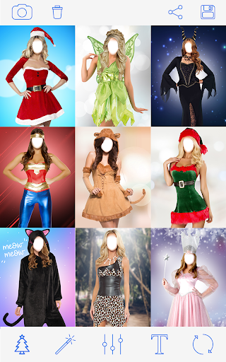 क्रिसमस वेशभूषा Photo Christmas Costumes screenshot 3