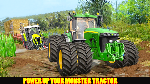 Tractor Pull & Farming Duty Game 2019 screenshot 3
