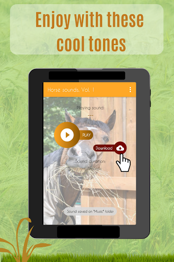 Horses Sounds for Cell Phone free. screenshot 4