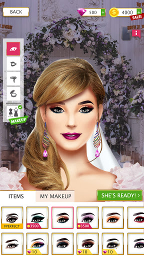 Super Wedding Stylist 2021 Dress Up & Makeup Salon screenshot 23
