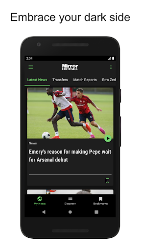 Mirror Football screenshot 4