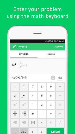 Cymath screenshot 3