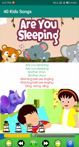 kids song - best offline nursery rhymes screenshot 8