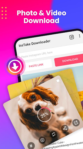 Photo & Video Downloader for Instagram screenshot 1