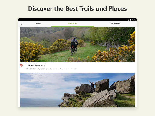 Komoot — Cycling, Hiking & Mountain Biking Maps 屏幕截图 14