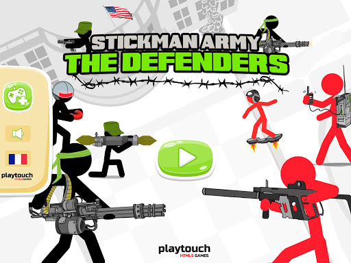 Stickman Army : The Defenders screenshot 5