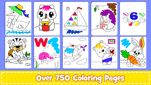 Coloring Games screenshot 1