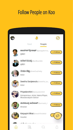 Koo: Connect with Indians in Indian Languages 🙂 screenshot 3