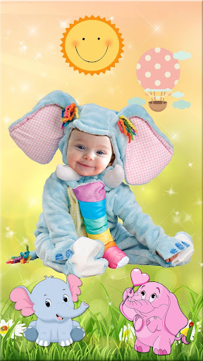 Cute Baby Photo Montage App 👶 Costume for Kids screenshot 2