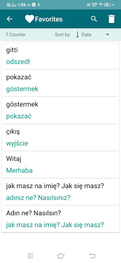 Polish-Turkish Translator screenshot 5