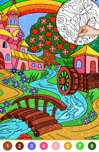 Color by number free screenshot 4
