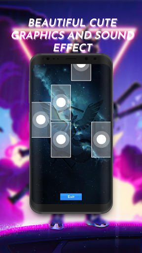 Piano Tiles Anime screenshot 2