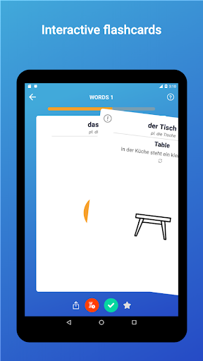 Learn German Words,Verbs,Articles with Flashcards screenshot 18