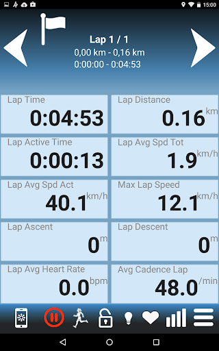 RunGPS Trainer Lite screenshot 16