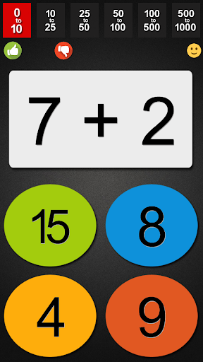 Fast Math for Kids with Tables screenshot 2
