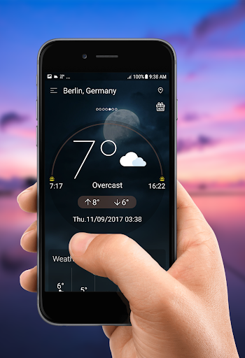 Daily weather forecast screenshot 10