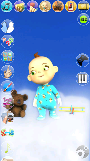 My Talking Baby Music Star screenshot 13