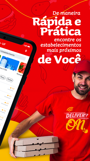 Delivery On screenshot 2