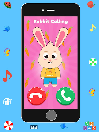 Baby Real Phone. Kids Game screenshot 10