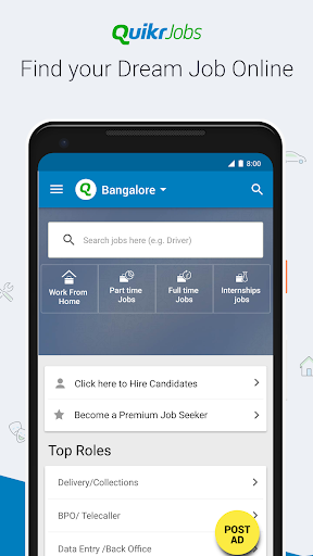 Quikr - Search Jobs, Mobiles, Cars, Home Services screenshot 2