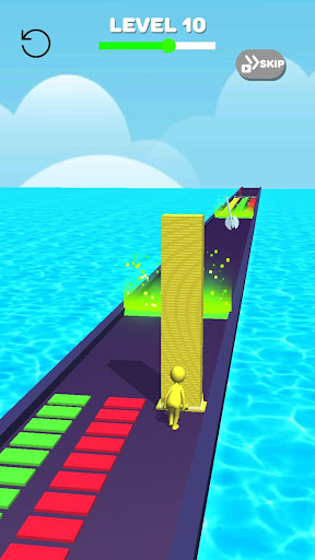 Tower Stack colors kick-Collect cubes tower run screenshot 6