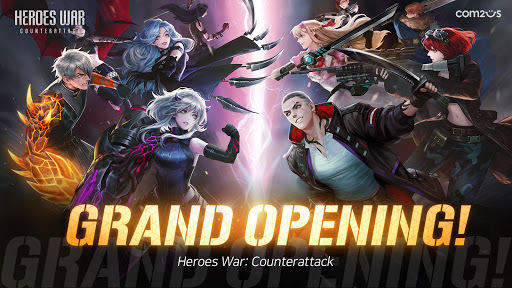 Heroes War screenshot 1