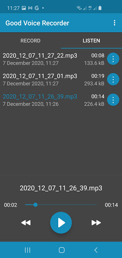 Good Voice Recorder - Sound & Audio Recorder screenshot 2