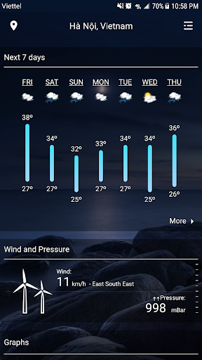 Weather - Weather Real-time Forecast screenshot 2