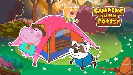 Scout adventures. Camping for kids screenshot 2