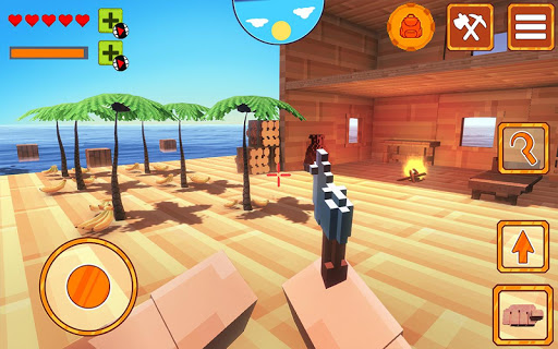 Multi Raft 3D: Survival Game on Island screenshot 1
