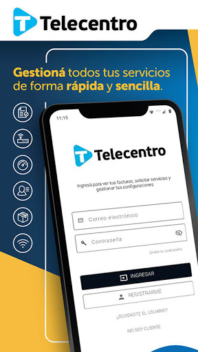 Telecentro Sucursal Virtual screenshot 1