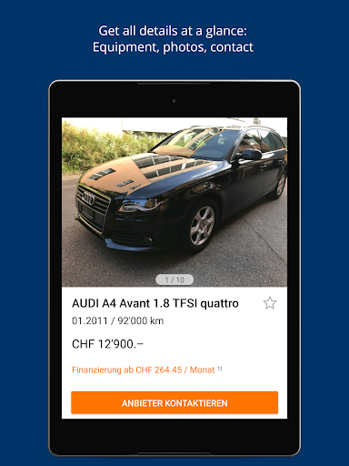 AutoScout24 Switzerland - Find your new car screenshot 11